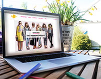 Website Design | Online magazine