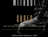 Tap Dancing Without Shoes Book Cover Design