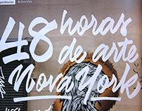 48 hours of art in New York city