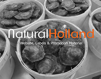 NaturalHolland - Website, labels & promotion material