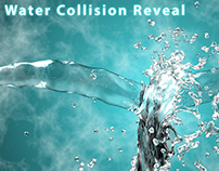 Water Collision Logo Reveal
