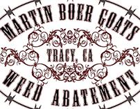 Martin Boer Goats Logo Design