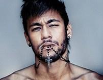 Redbull magazine Neymar