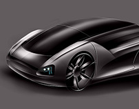 Citroen concept quick sketch