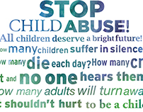 Poster Project : STOP CHILD ABUSE AND NEGLECT