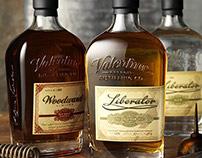 Woodward Vodka and Liberator Gin, Valentine Distillery