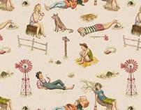 Lazy summer pattern