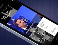 JT mobile website concept