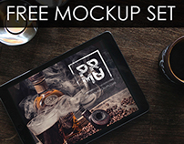 Free PSD Mockup Collection