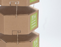 Sustainable Bagless Take-Out Packaging