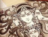Shiva - Drawing