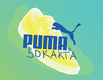 PUMA Sokakta Branding