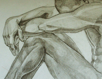 Drawing. Anatomy studies