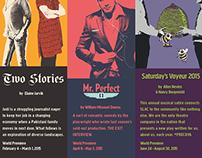 Salt Lake Acting Company 2014-15 Graphics