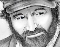 Robin Williams - Good Will Hunting Portrait