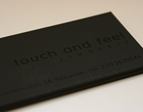 touch & feel lingerie - Business Cards