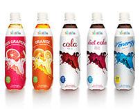 sodaboss™ soda flavor bottle labels