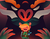 Fangamer ❤ AttractMode show Zelda piece