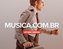 Musica.com.br - Mobile Atomic Design