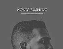 Bushido (german rapper) Website Redesign