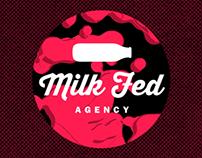 Brand Logo Animatics - Milkfed Agency