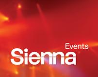 Sienna Events Branding