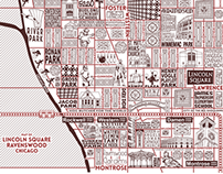 Ravenswood and Lincoln Square Map