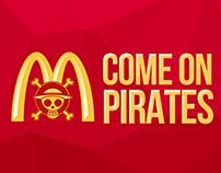 MCD Come on pirates