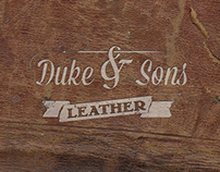 Duke & Sons Leather: My handmade products