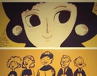 ICHIJUV's Murals 2014