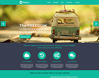 Flatrrr - Wordpress template