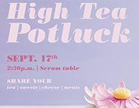 High Tea Social Committee Poster