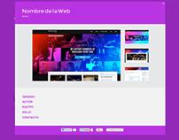 ESPACIO SANTAFESINO web design