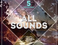 ALL SOUNDS. Flyers