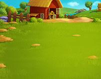 Alien & Farm Game art