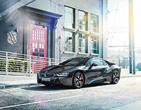 Postproduction & Lookentwicklung BMW i8