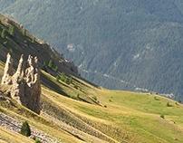 Gros Ferrand and Col de la Rousse, French Alps