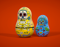 MexiRussian Dolls Animation