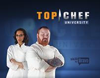 Top Chef University - Website Design
