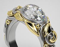 """Luxury Jewelry set """"Catherine"""""""