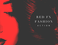 Red FX Fashion (Photoshop Action)