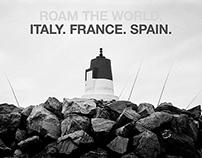 ROAM THE WORLD – ITALY FRANCE SPAIN