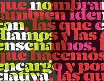 Magazine advertisements for Typograma