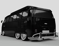 Volkswagen 3D Modelling - Rendering - Compositing