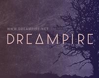 Dreampire logo & Landing page