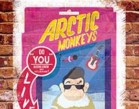 Arctic Monkeys Gig Poster