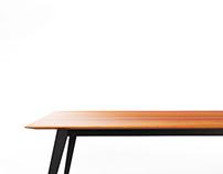Free 3d model: LinieM Table System by MuellerManufaktur