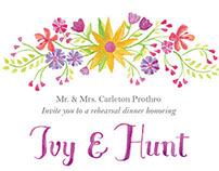 Ivy & Hunt – Wedding Print Pieces
