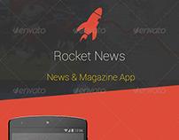 Rocket News & Magazine Android App - UI