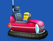 Minion Rush Video Game - Low Poly Models - 2012 - 2014